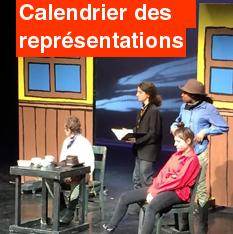 Programme et calendrier des représentations